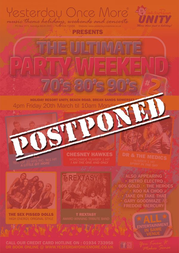Postponed Ultimate Party 2020