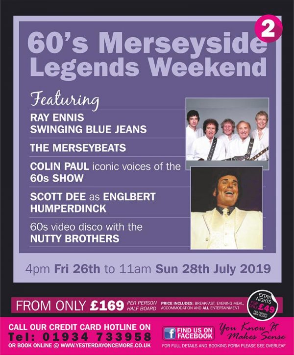 Sixties Merseyside Legends Weekend 2019