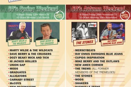Yesterday Once More Swinging 60s Weekends for 2021