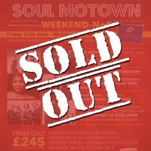 Yesterday Once More Soul Motown 2021 Sold Out