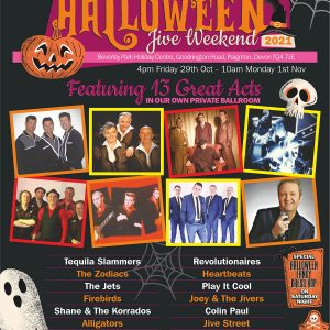 Yesterday Once More Halloween Jive Weekend 2021