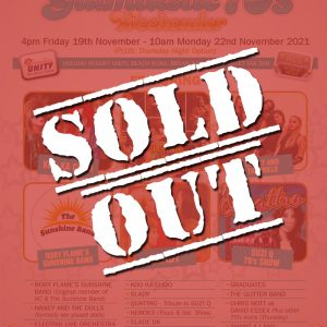 Yesterday Once More Glamtastic 70's Weekender 2021 Sold Out