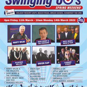 Swinging 60's Spring Weekend 2022