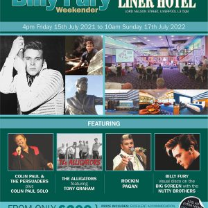 Yesterday Once More Billy Fury Weekend 2022
